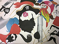 Фотобутафория Bonita Пиратская вечеринка 22 предметов