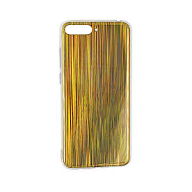 Чехол накладка для Huawei Y6 2018 ATU-L21 силиконовый, HONOR Chameleon, Разноцветный