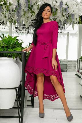 Женское Платье (141)205. (5 цветов), Ткань: креп. Размеры: 42, 44, 46, 48, 50., фото 2