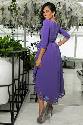 Женское Платье, цвет Лаванда (141)205-4. (5 цветов), Ткань: креп. Размеры: 42, 44, 46, 48, 50., фото 2