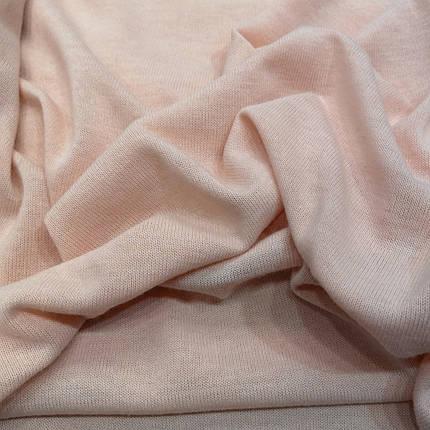 Трикотаж ангора тонка персикова, фото 2