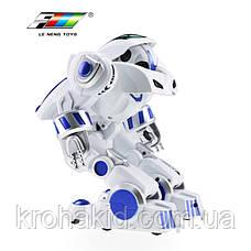 Интеллектуальный робот K4 Deformation Robot 7 (белый с синим), фото 3