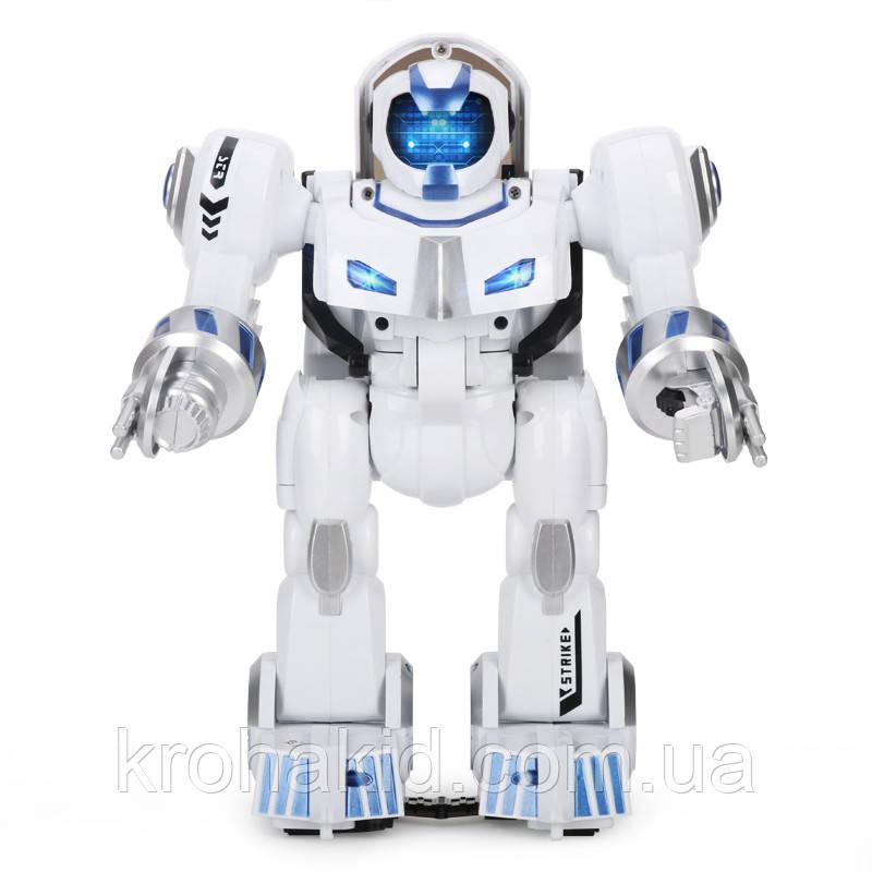 Интеллектуальный робот K4 Deformation Robot 7 (белый с синим)