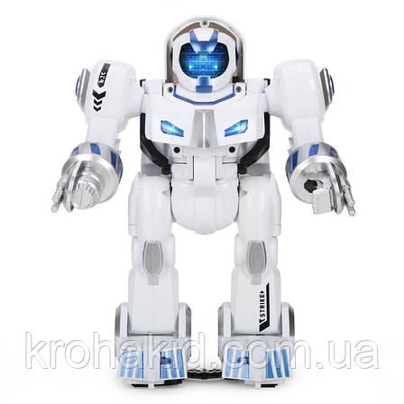 Интеллектуальный робот K4 Deformation Robot 7 (белый с синим), фото 2