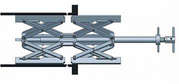 Центратор трубный для внутренний виксации труб 56-180 мм серии IMC
