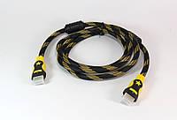 Кабель HDMI-HDMI (V1.4) 1.5M / hdmi кабель для TV/DV/DVD/PJ / кабель переходник hdmi 1,5 метра