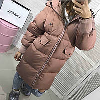 Женская зимняя куртка на молнии синтепон 200