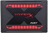 SATA-SSD-TLC 240GB Kingston HyperX Fury RGB (SHFR200/240G), фото 1