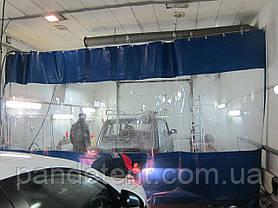 Тент ПВХ  водостойкий для СТО, автомойки, цеха и гаража, фото 2