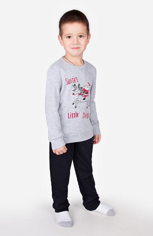 Пижама, кофта с брюками 2639 Goldi 116 Серый
