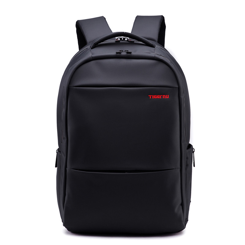 Городской рюкзак для ноутбука 19 Тigernu (Тайгерну), черный цвет