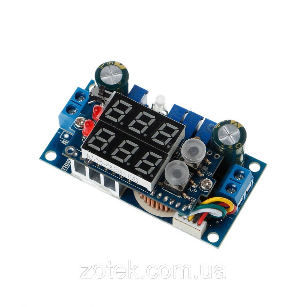 DC-DC MPPT XL4015 5A стабилизатор драйвер для солнечных батарей с экраном