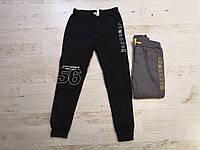 Спортивные утепленные штаны для мальчиков оптом, Glo-story, 110-160 см,  № BRT-7402, фото 1