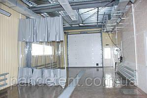 Шторы тент ПВХ для гаражей, складов, автомоек, СТО, покрасочных
