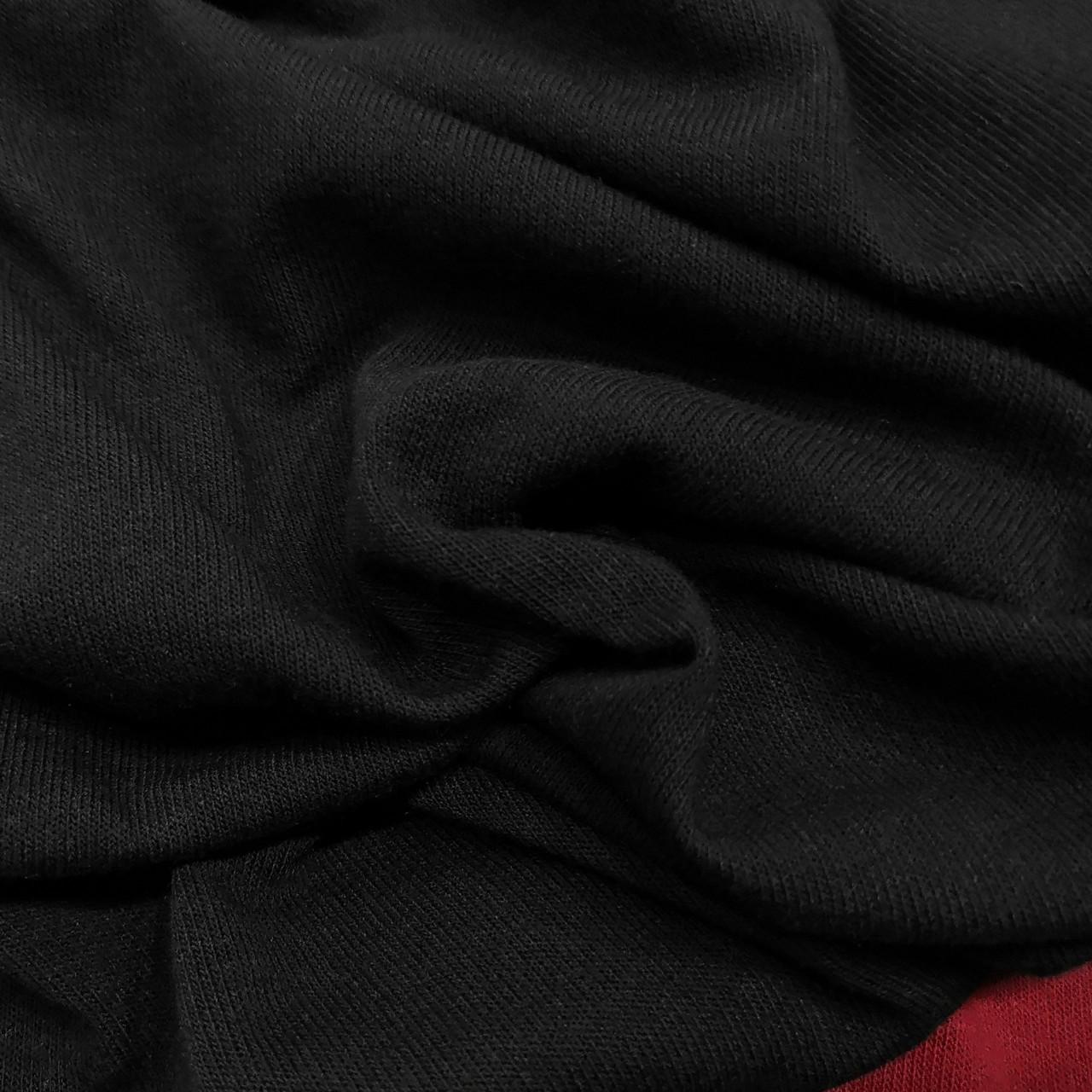Трикотаж ангора тонкая черная
