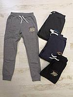 Спортивные утепленные штаны для мальчиков оптом, Glo-story, 134/140-170 см,  № BRT-6646, фото 1