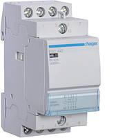 Контактор стандартный 40А, 2НО+2НЗ, 230В, 3М (Hager)