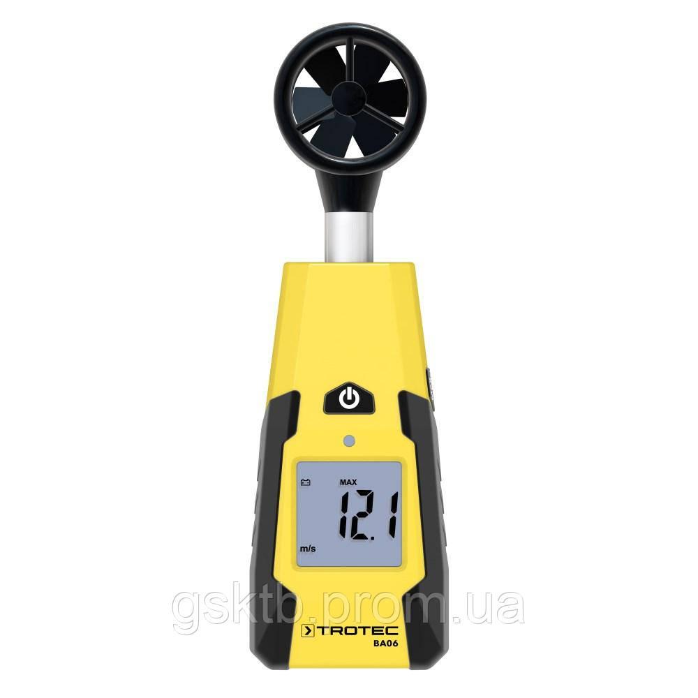 Анемометр лопастной Trotec BA06 (Германия)