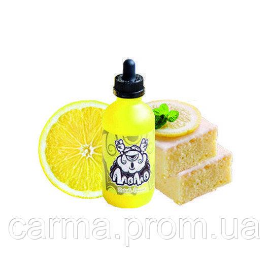 Жидкость для электронных сигарет без никотина Momo 0мг 60мл Свежеиспеченный лимонный пирог со сладчайшим тростниковым сахаром