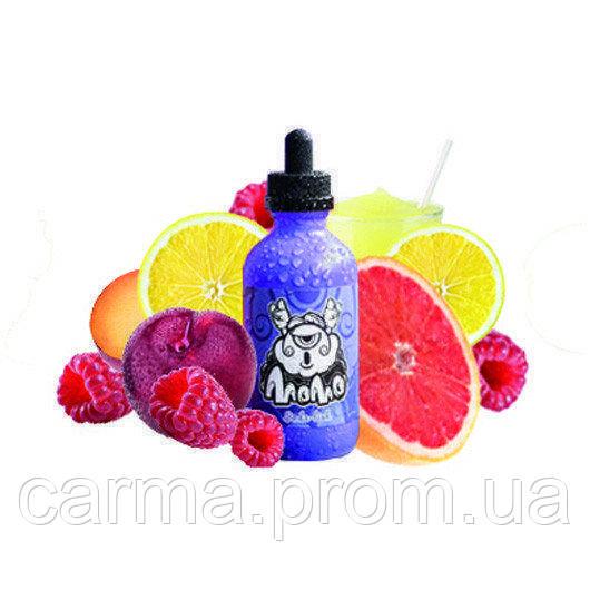 Жидкость для электронных сигарет без никотина Momo 0мг 60мл свежевыжатый лимонный сок с добавлением сладчайшей спелой малины и каплей терпкого