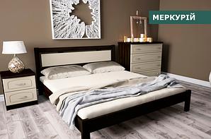 """Кровать """"Меркурий"""" из натурального дерева (сосна, ольха)"""