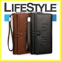 Новое мужское портмоне клатч кошелёк Baellerry Guero, фото 1
