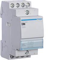 Контактор стандартный 63А, 2НО+2НЗ, 230В, 3М (Hager), фото 1