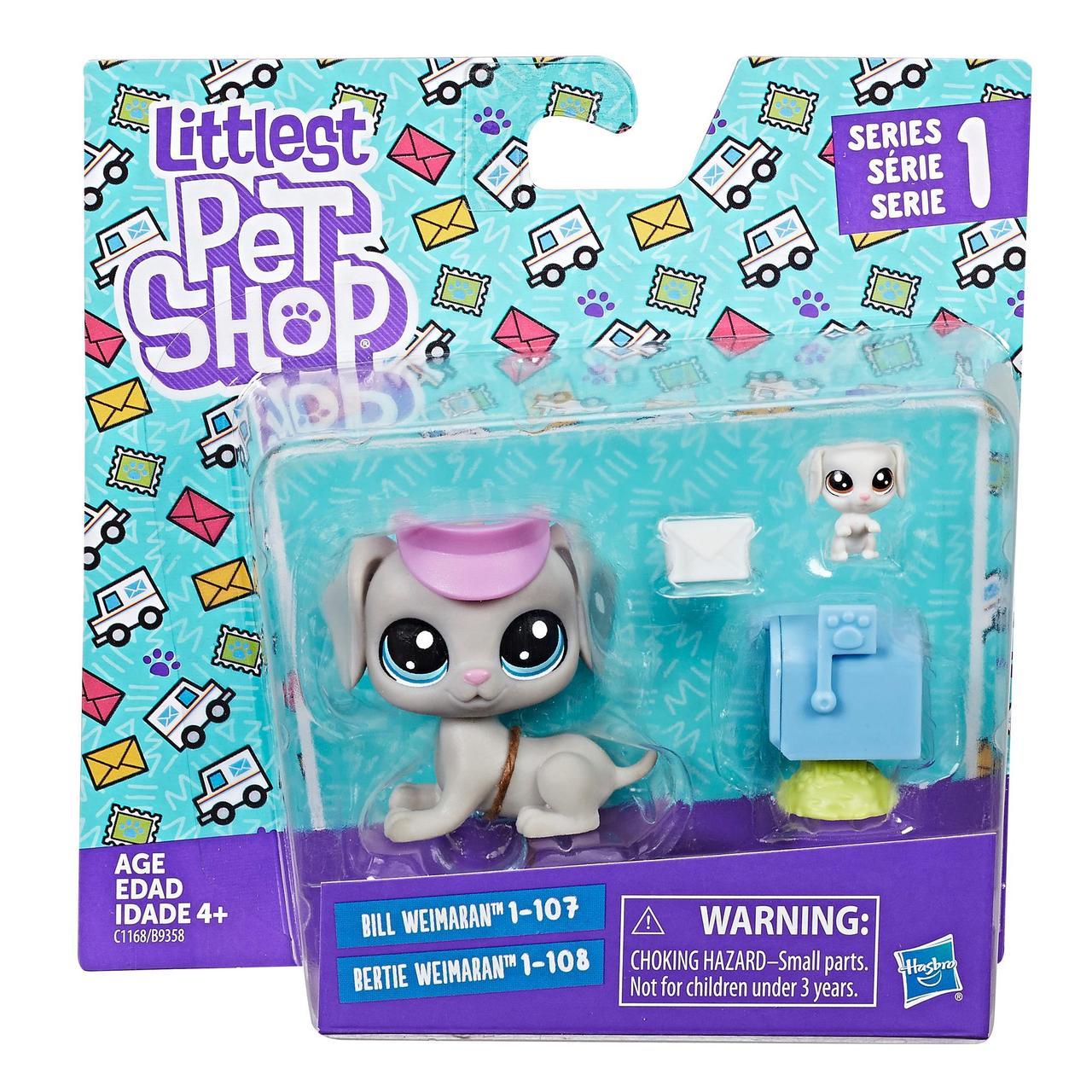 Littlest pet shop lps игровой набор Hasbro лпс пет шоп bill weimaran.bertie weimaran