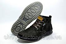 Ботинки зимние в стиле Ecco мужские на меху, Brown, фото 3