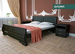 """Кровать """"Олимп""""  из натурального дерева (сосна, ольха)"""