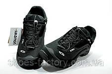 Термо кроссовки в стиле Salomon Fury 3 Black, фото 3