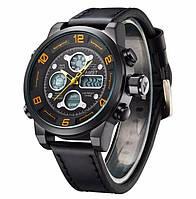 Наручные часы AMST 3020 Мужские наручные водонепроницаемые часы Желтый циферблат (SUN2208)