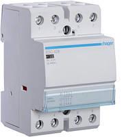 Контактор стандартный 25А, 3НО+1НЗ, 230В, 2М (Hager)