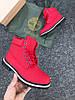 Женские кроссовки Timberland  красные, фото 2