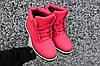 Женские кроссовки Timberland  красные, фото 6