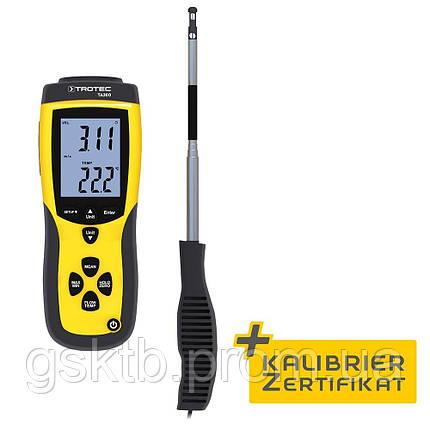 Анемометр тепловой профессиональный Trotec TA300 (Германия), фото 2