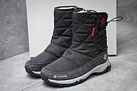 Зимние ботинки в стиле Columbia Keep warm, серые (30281),  [  38 (последняя пара)  ]
