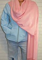 Палантин шарф в стиле Gucci (Гучи) розовый
