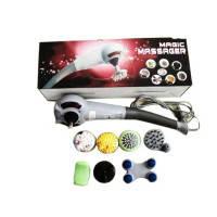 Ручний Вібраційний Масажер для Тіла Magic Massager 8 в 1