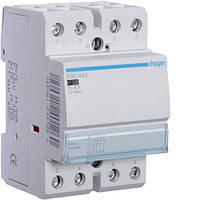 Контактор стандартный 40А, 3НО+1НЗ, 230В, 3М (Hager)