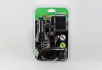 Комплект Адаптер MOBI CHARGER 10in1 C12 (Блистер, черный), фото 1