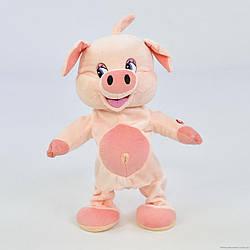 Развивающая музыкальная игрушка Свинка, код 30414