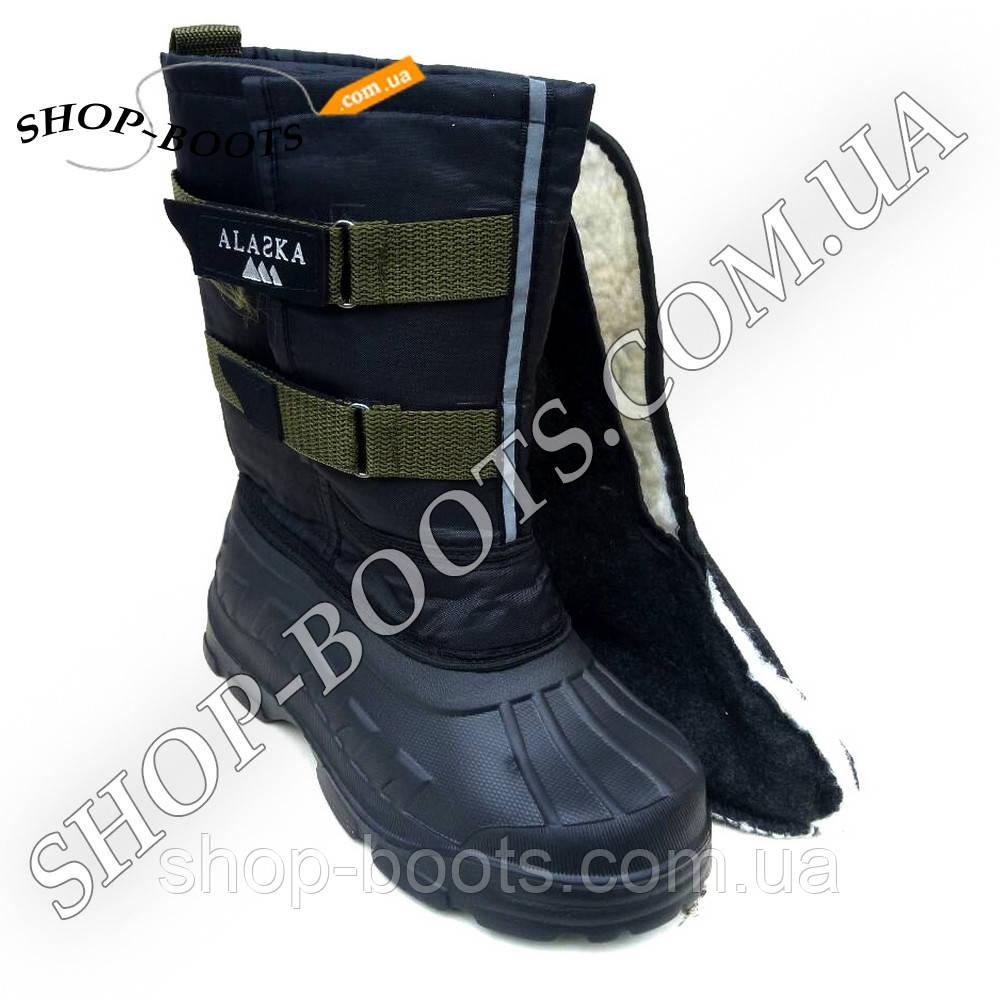 Подростковые сапоги аляска со теплой вставкой. 36-41рр. Модель аляска подросток 2