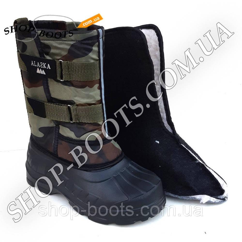 Підліткові чоботи аляска з теплою вставкою. 36-41рр. Модель аляска підліток 3