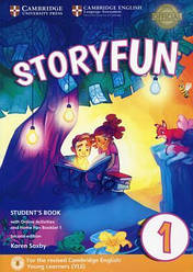 Storyfun for Starters 2nd Edition 1 Student's Book with Online Activities and Home Fun Booklet