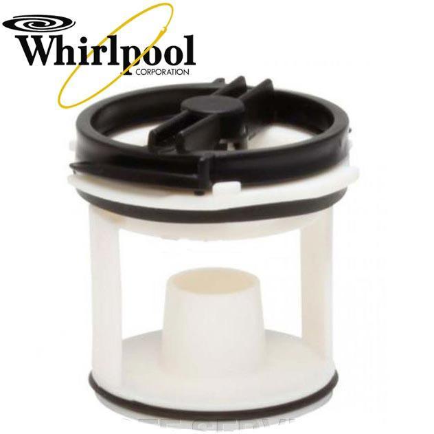 Кришка фільтра насоса пральної машини Whirlpool 143IG10, 481936078228
