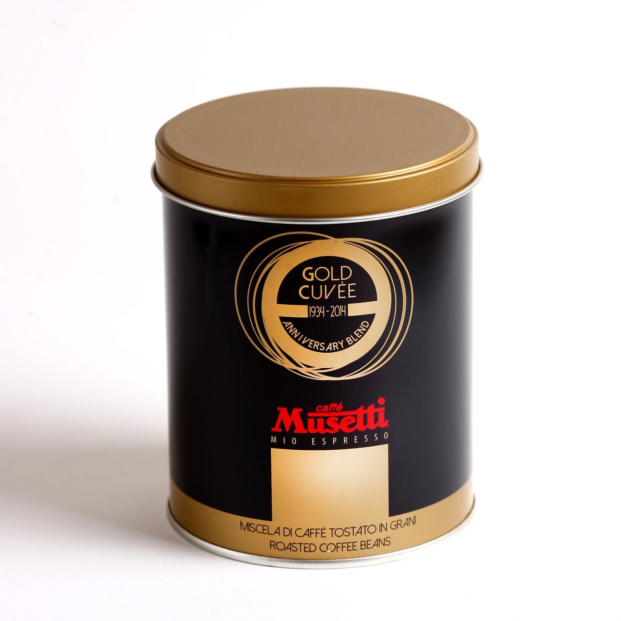 Кофе в зернах Musetti Gold Cuvee 250 г ж/б