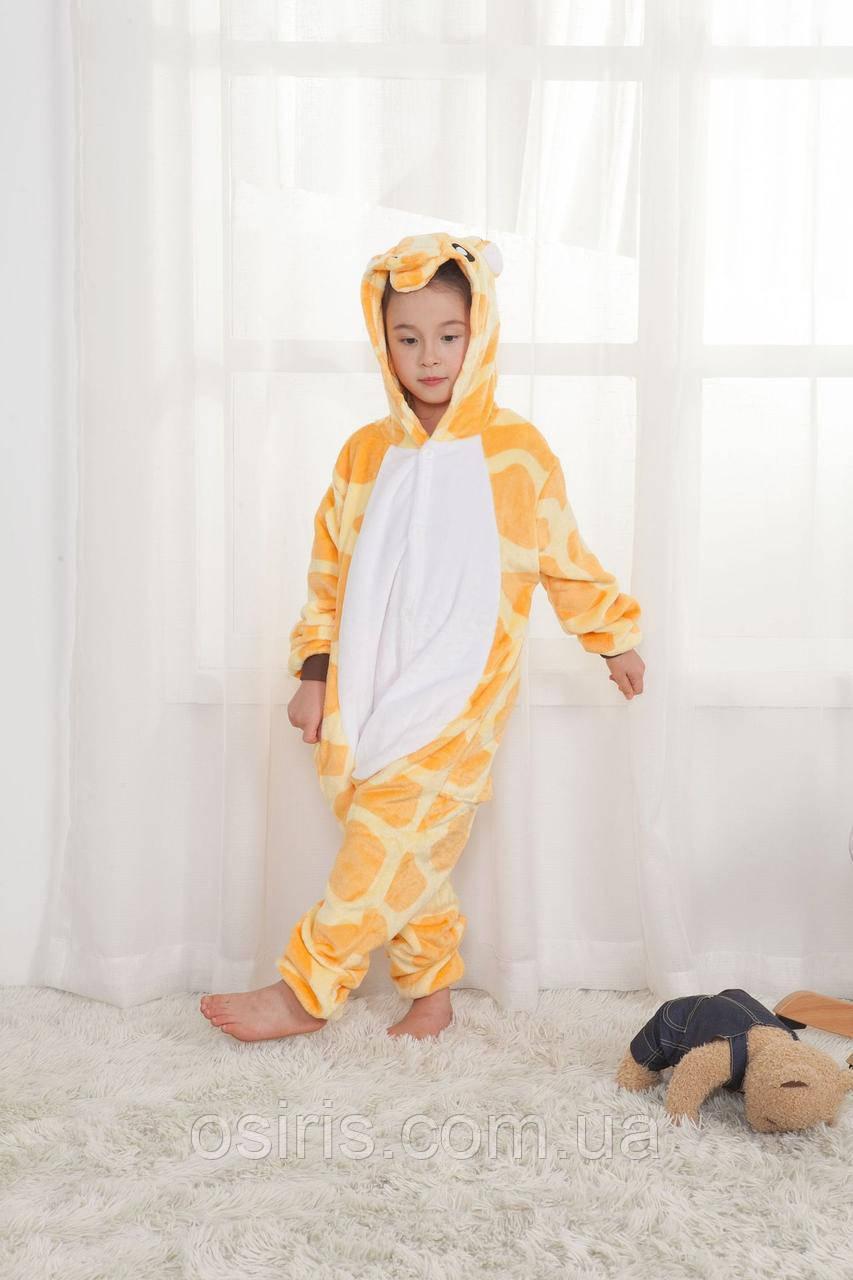 Пижама Кигуруми Жираф на рост 130-140 см  продажа a65979a77dcaa