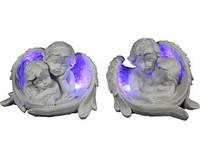 Керамические ангелы с подсветкой