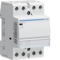 Контактор стандартный 63А, 4НО, 230В, 3М (Hager)